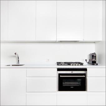 Cocina blanca - lacca bianco