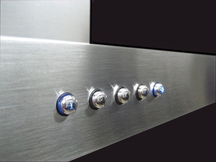 Botones de la Campana extractora PANDO
