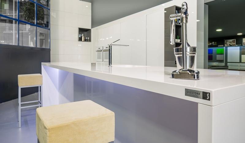 Cocinas brava - cocinas modernas blancas