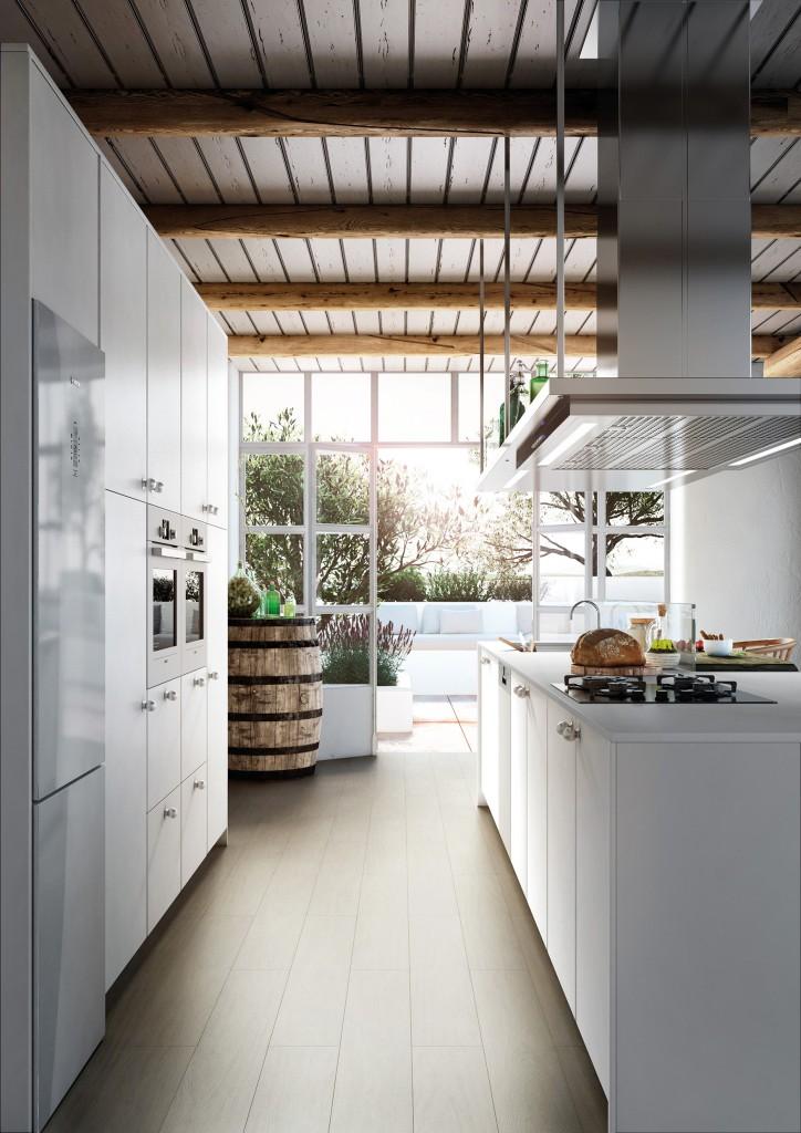 Cocinas brava cocinas de dise o la pureza del acabado for Diseno cocinas paralelo