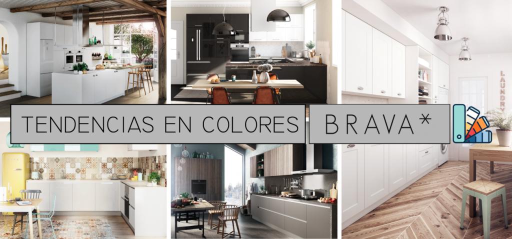 los colores de las cocinas en tendencia