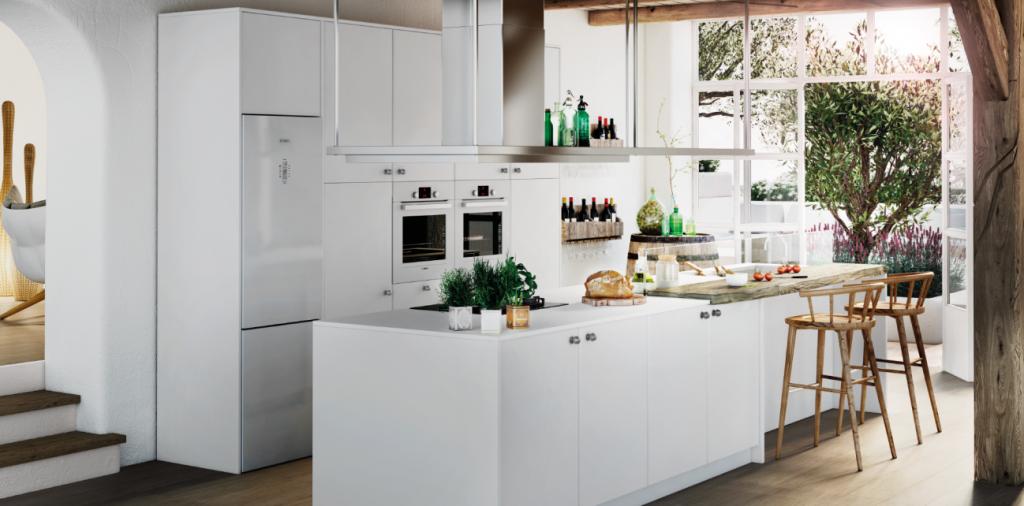Cocinas brava cocinas de dise o cocinas abiertas al for Cocinas con isla y salon