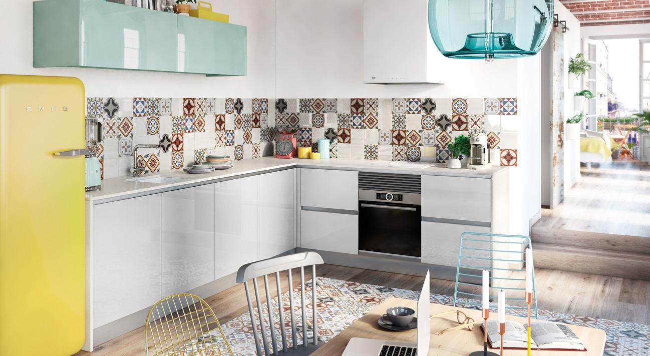 Cocinas Brava Cocinas De Dise O Cocinas Peque As Funcionales  # Muebles Efecto Espejo