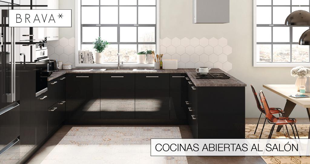 Cocinas Brava - Cocinas de diseño | Una cocina abierta al salón ...