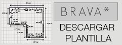 Plantilla para dibujar plano
