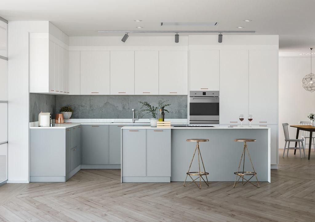 Cocinas brava cocinas de dise o elegancia cocina for Muebles altos de cocina